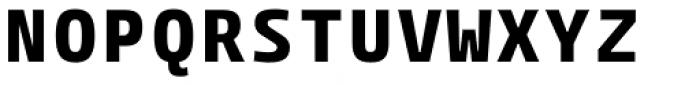 Paradroid Mono Bold Font UPPERCASE