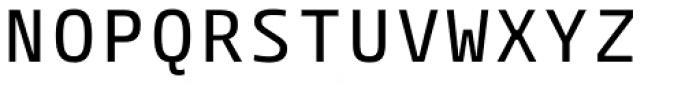 Paradroid Mono Regular Font UPPERCASE