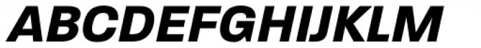Paralucent Bold Italic Font UPPERCASE