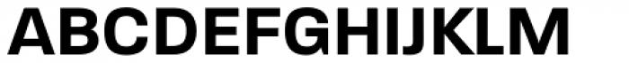 Paralucent DemiBold Font UPPERCASE
