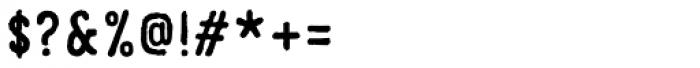 Parcel Font OTHER CHARS