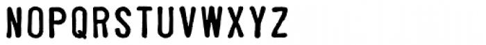 Parcel Font LOWERCASE