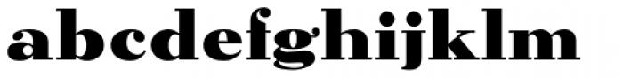 Parcival Antiqua Bold Font LOWERCASE