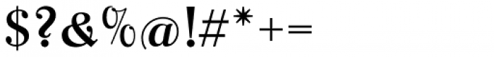 Parcival Antiqua Regular Font OTHER CHARS