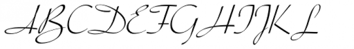 Parfum Font UPPERCASE