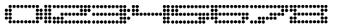Pargrid Regular Font OTHER CHARS