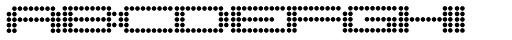 Pargrid Regular Font UPPERCASE
