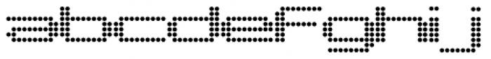 Pargrid Regular Font LOWERCASE