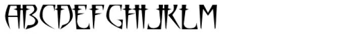 Parika Font UPPERCASE