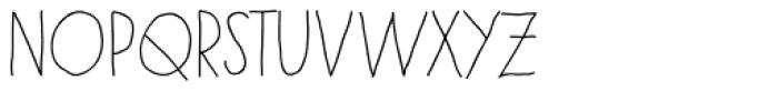 Paris Bold Font LOWERCASE