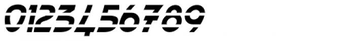 Paris Metro Italic Font OTHER CHARS