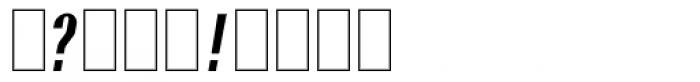 Paris ND Medium Font OTHER CHARS