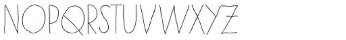 Paris Font UPPERCASE