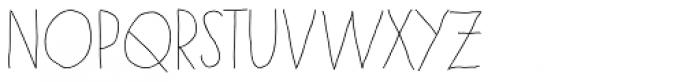 Paris Font LOWERCASE