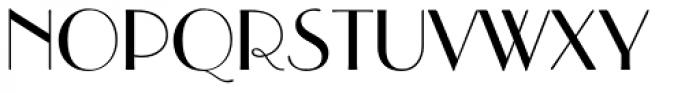 Parisian Std Font UPPERCASE