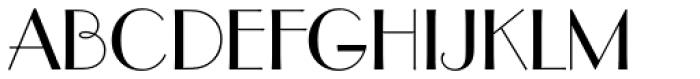 Parisian Font UPPERCASE