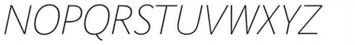 Parisine Std Clair Italic Font UPPERCASE