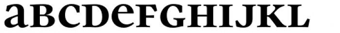 Parity Bold Font LOWERCASE