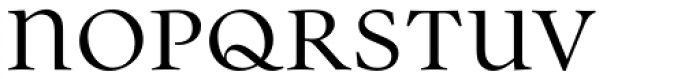 Parity Regular Font UPPERCASE