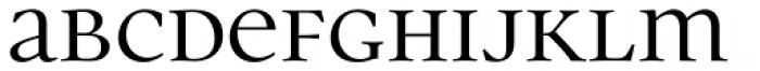 Parity Regular Font LOWERCASE