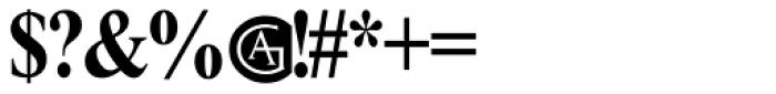 Parker Font OTHER CHARS