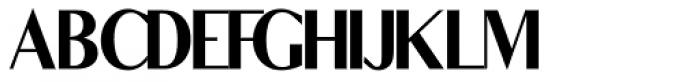 Parker Font UPPERCASE