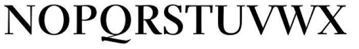 Parkinson Electra Pro Bold Font UPPERCASE