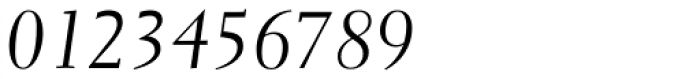 Parkinson Electra Pro Italic Font OTHER CHARS