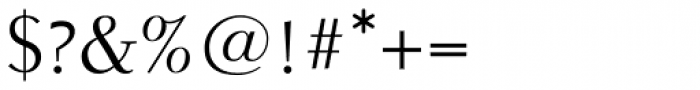 Parkinson Electra Pro Regular Font OTHER CHARS