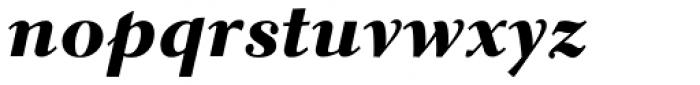 Parkinson Electra Std Heavy Italic Font LOWERCASE