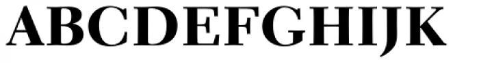 Parkinson Electra Std Heavy Font UPPERCASE