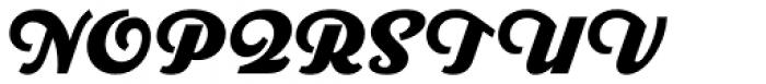 Parkside Black Font UPPERCASE