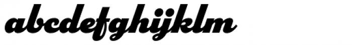 Parkside Black Font LOWERCASE