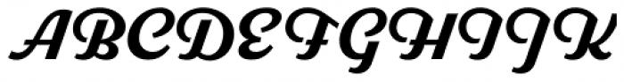 Parkside Bold Font UPPERCASE