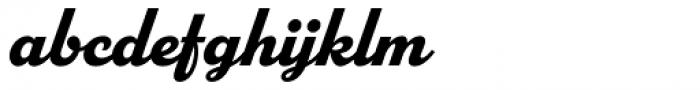 Parkside Bold Font LOWERCASE