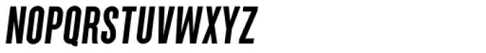 Parkson Black Italic Font UPPERCASE