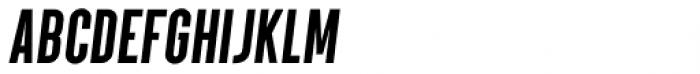 Parkson Black Italic Font LOWERCASE