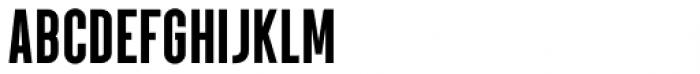 Parkson Black Font LOWERCASE