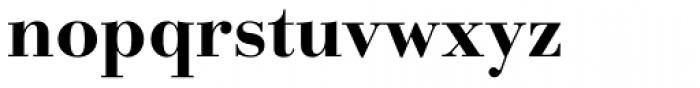 Parma Pro Cyrillic Bold Font LOWERCASE