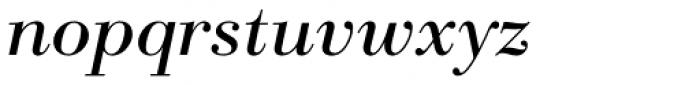 Parma Pro Cyrillic Italic Font LOWERCASE