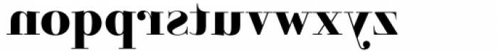 Parmesan Revolution Heavy Font LOWERCASE