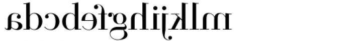 Parmesan Revolution Light Font LOWERCASE