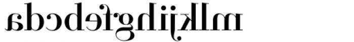 Parmesan Revolution Regular Font LOWERCASE