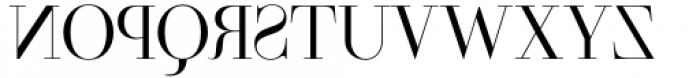 Parmesan Revolution Thin Font UPPERCASE