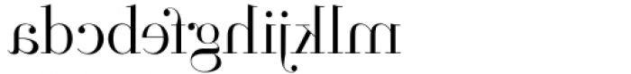 Parmesan Revolution Thin Font LOWERCASE