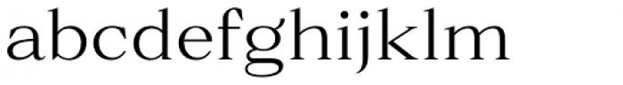 Parnas Regular Font LOWERCASE