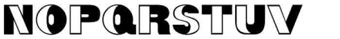 Partial Eclipse JNL Font LOWERCASE