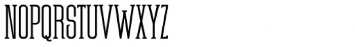Partizano Serif Font UPPERCASE