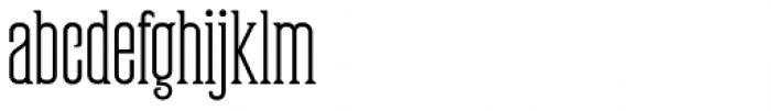 Partizano Serif Font LOWERCASE
