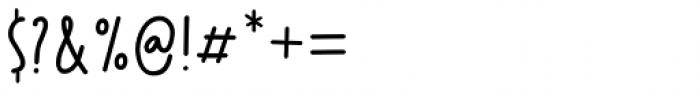 Party Pocket Regular Font OTHER CHARS